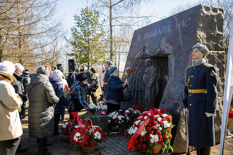 В Красном Селе почтили память узников фашистских концлагерей
